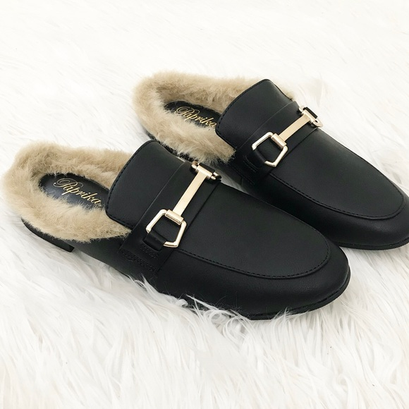 Shoes - Fur Loafers